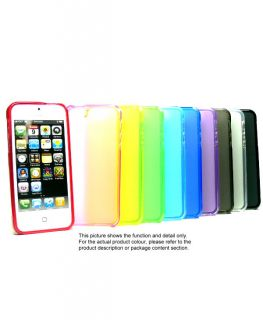 Silicone Soft Rubber Skin Cover Case for iPhone 5 U467B