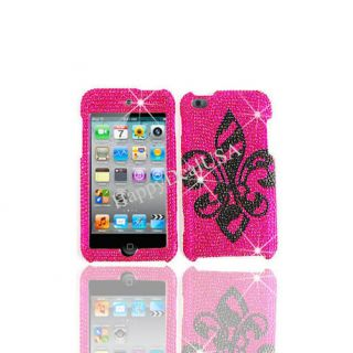 Cover for Apple iPod Touch iTouch 4 4th Case Fleur de Lis BK HP