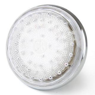 EUR € 10.66   Rociador LED para Ducha de 7.62cm   Acabado en Cromo o