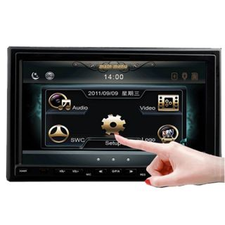 HD 2 DIN 7Touch Screen Car DVD Player Radio iPod Bluetooth USB MP3
