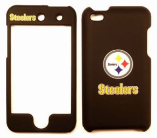 Pittsburgh Steelers Apple iPod Touch 4 Faceplate Case Cover Snap On