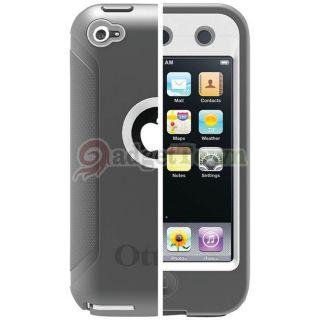 Genuine Otterbox Defender Case for iPod Touch 4 4th 4G Glacier Gray