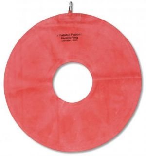 Invalid Cushion Ring Made of Natural Rubber Latex with A Metal Valve