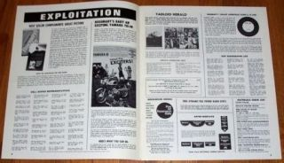 Rosemarys Baby Uncut Original Pressbook 1968