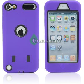 Silicone Hard Case Cover for Apple iPod Touch 5 5g 5th Bonus GM