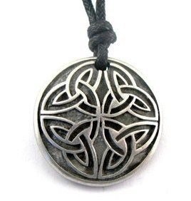 IRISH CELTIC TRINITY KNOT NECKLACE PENDANT BOY MEN 16 30 LONG FASHION