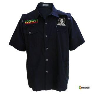 Shirt Irie Lion Selassie Reggae Dancehall Rastafari Dub Irie