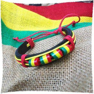 Wrist Bracelet Negril Jamaica Montego Bay Irie Reggae Marley RGY