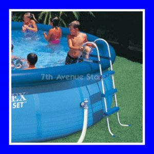 Intex 42 Height Above Ground Swimming Pool Ladder New