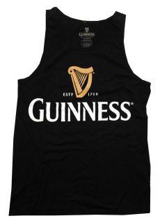 Harp Logo 1759 Beer Alcohol Irish Adult Tank Top T Shirt Tee