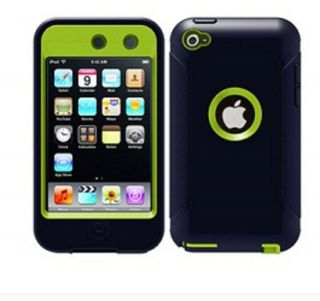 OtterBox Defender iPod Touch 4 Atomic Blue Green Case iPod Touch 4th