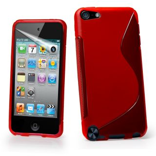Line Wave Gel Case Cover For Apple Touch5 iPod Touch 5G+ Screen