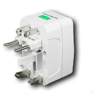 International Universal All in One Travel Power Plug Adapter for US UK