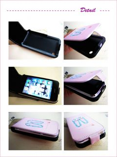 Apple iPhone 3G 3GS Leather Case Cover Corsage Cleaner