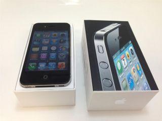 Apple iPhone 4 16GB Factory Unlocked Black GSM Cell Phone Smartphone