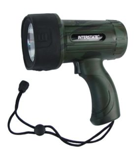 Interstate Battery LIG8201 4AA 3W LED Spotlight Camo