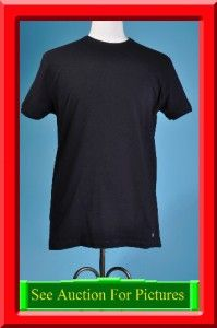 Stylish Gianni Versace Intimo L EU 52 Black Stretch Casual Club Shirt