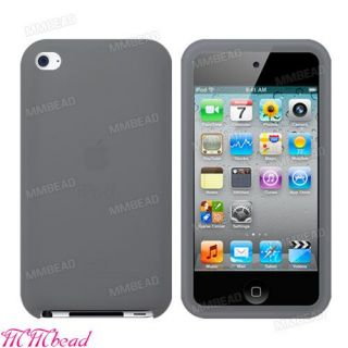 Color Silicone Case Cover Skin for Apple iPod Touch 4 4th Gen