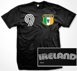 Ireland Flag Shield T Shirt Jersey Irish Football Rugby