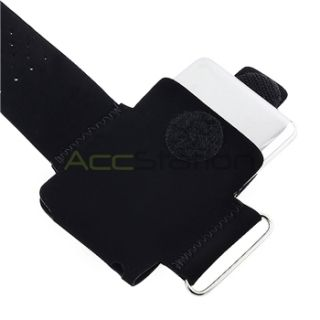 For Apple iPod Nano 3rd Gen Black Sport Armband Arm Band Case Skin