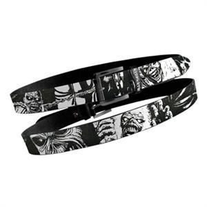 Iron Maiden Piece of Mind Leather Belt with Metal Buckle New 2 Sizes