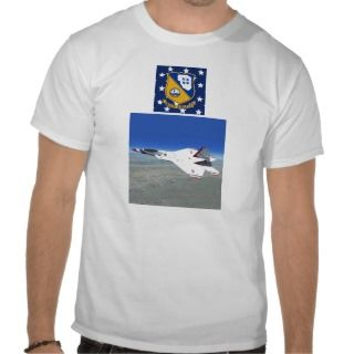 F22 Raptor Blue Angels Jet Fighter Plane T Shirt