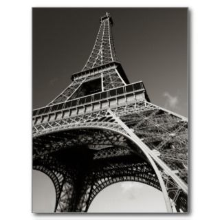 eiffel tower in paris post cards