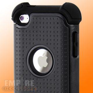 DEFENDER LAYER HYBRID HARD CASE iPod Touch 4th Gen 4G ACCESSORIES