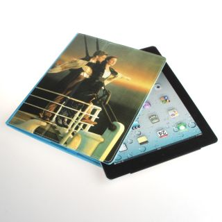 Magnetic PU Leather Folio Case Cover Holder for iPad2 3 4 Blue
