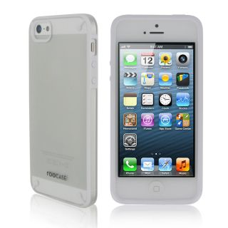 Fuse Ultra Slim Shell Case Cover for Apple iPhone 5 Frost White