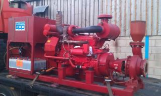 Sprinkler System Water Pump Generator Irrigation Pump