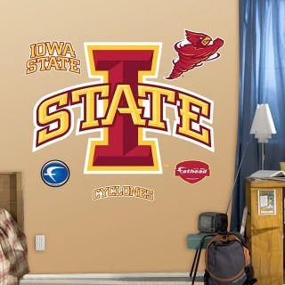 Iowa State Cyclones Logo Fathead Wall Graphic