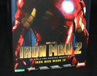Iron Man Mark IV 1 6 Scale ARTFX Kotobukiya Iron Man 2