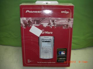 Pioneer Airware XM2go Portable XM Satellite Radio Receiver