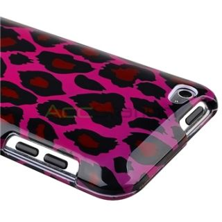 Colorful Zebra Hard Skin Case Cover for iPod Touch 4 4G 4th Gen