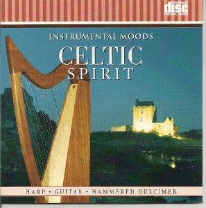 Irish Celtic Spirit Instrumental Relaxation Music CD