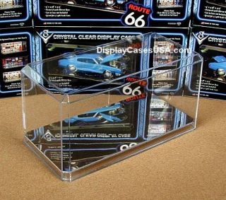 New 1 24 Scale Mirror Display Case for IRL F1 NASCAR Diecast Model Kit