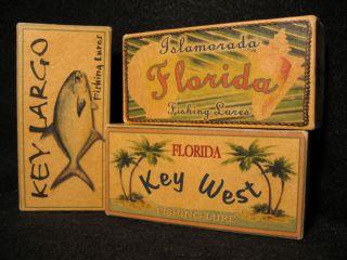 Key West, Key Largo and Islamorada Florida beach house fishing lure