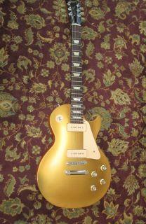 2011 Gibson Les Paul 60s ribue Gold op w OHSC Sudio $1 No Reserve
