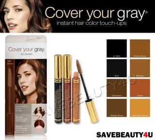 Pkg Irene Gari Cover Your Gray Instant Touch Up Brush in Hair Color
