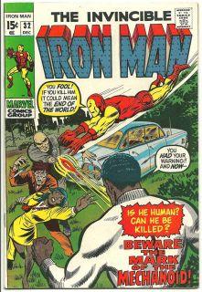 Iron Man 32 FN 6 0 Don Heck Art