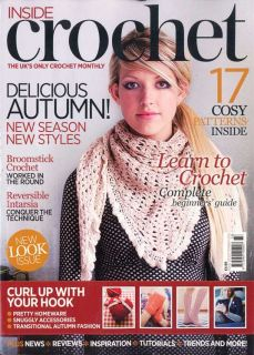 Inside Crochet Magazine September 2012 Issue 33 Beginners Guide 17