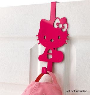 Kitty Door Hook Hanger Metal Iron Kids Girls Cute Room Decor