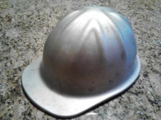 Vintage Aluminum McDonald I Cap Standard Mine Safety Helmet Hard Hat