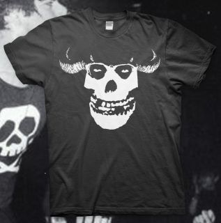 Ghost High Quality T Shirt The Misfits Jerry Only Black Flag