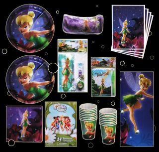 Disney Fairies Birthday Party Set Supplies for 16 Guests