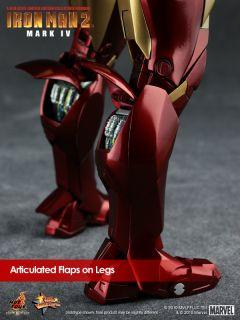 Hot Toys Ironman 2 Mark IV MK 4 Tony Stark