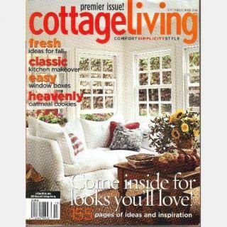 Living Magazine September October 2004 Premier Issue Sept Oct