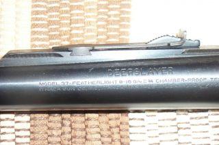 Ithaca Model 37 16ga Deerslayer Barrel
