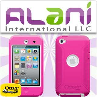 Defender Series Case for Apple iPod Touch 4th Gen 4G Pink / White New